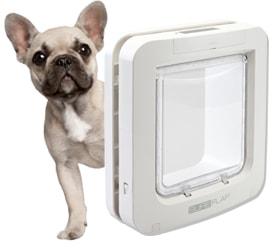 BAZAR - Dvířka SureFlap s mikročipem pro psy BÍLÁ - Lehce použité