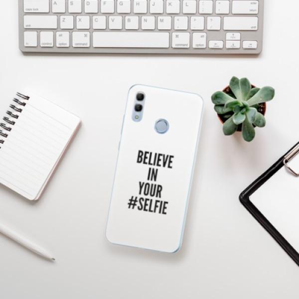 Odolné silikonové pouzdro iSaprio - Selfie - Huawei Honor 10 Lite