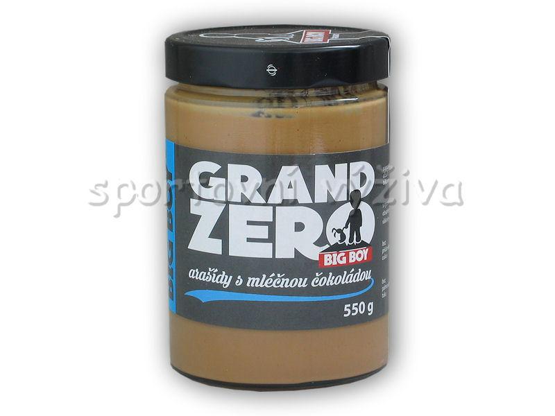 Grand zero <b>arašídový</b> krém <b>mléčnou</b> čoko 550g