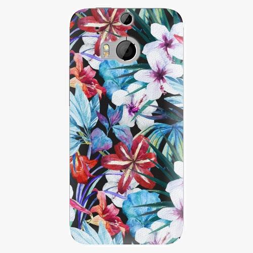 Plastový kryt iSaprio - Tropical Flowers 05 - HTC One M8