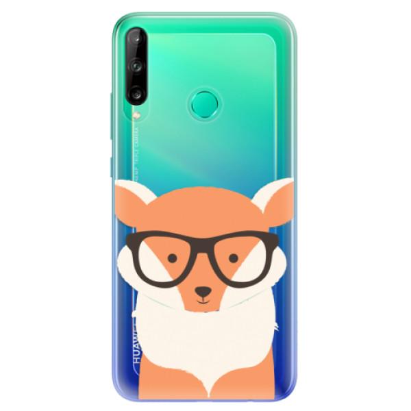 Odolné silikonové pouzdro iSaprio - Orange Fox - Huawei P40 Lite E
