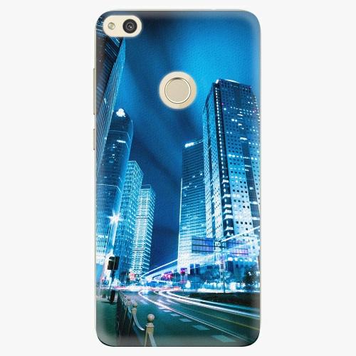 Plastový kryt iSaprio - Night City Blue - Huawei P8 Lite 2017