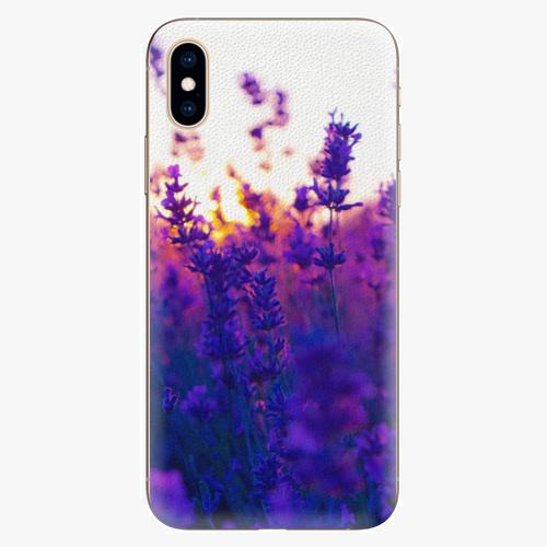 Silikonové pouzdro iSaprio - Lavender Field - iPhone XS