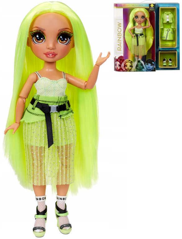 RAINBOW HIGH Fashion Karma Nichols módní panenka set s oblečky a doplňky