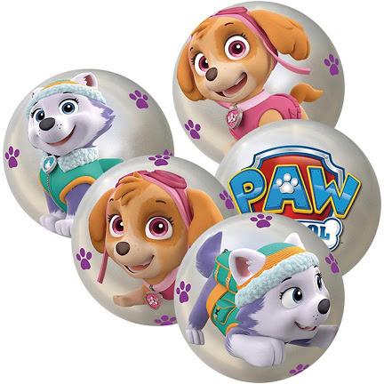 DINO Míč Tlapková Patrola balon s potiskem 10cm 4 druhy