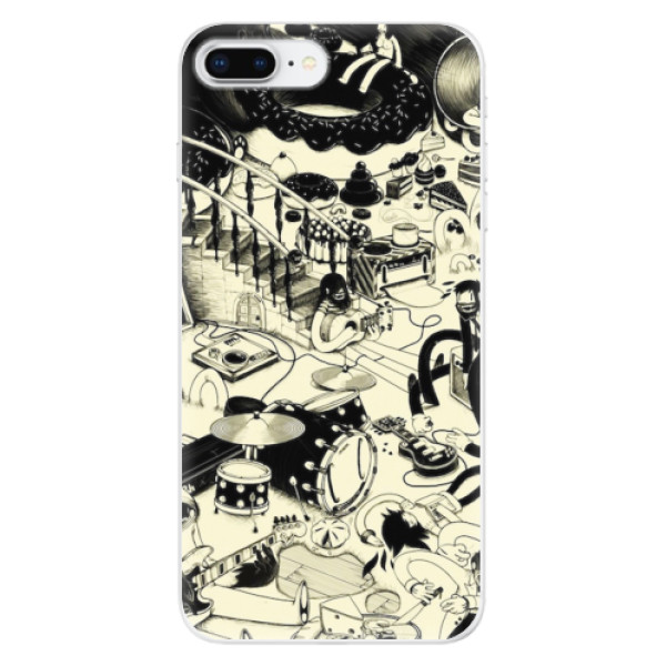 Odolné silikonové pouzdro iSaprio - Underground - iPhone 8 Plus