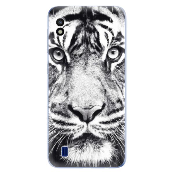 Odolné silikonové pouzdro iSaprio - Tiger Face - Samsung Galaxy A10