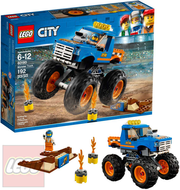 LEGO CITY Monster truck STAVEBNICE 60180