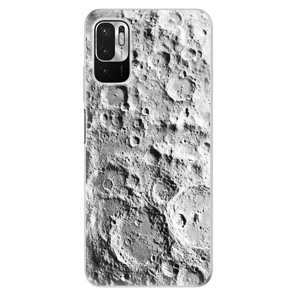 Odolné silikonové pouzdro iSaprio - Moon Surface - Xiaomi Redmi Note 10 5G