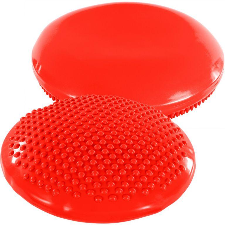 Balanční polštář na sezení MOVIT 37 cm XXL - červený