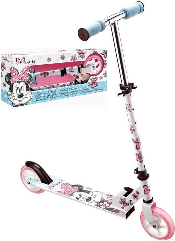 STAMP Koloběžka exclusive dětská skládací Disney Minnie kovová