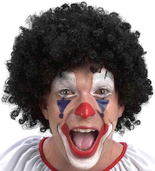 KARNEVAL Paruka klaun černá KARNEVALOVÝ DOPLNĚK