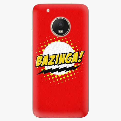 Plastový kryt iSaprio - Bazinga 01 - Lenovo Moto G5 Plus