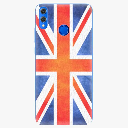 Silikonové pouzdro iSaprio - UK Flag - Huawei Honor 8X