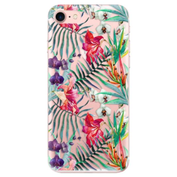 Odolné silikonové pouzdro iSaprio - Flower Pattern 03 - iPhone 7