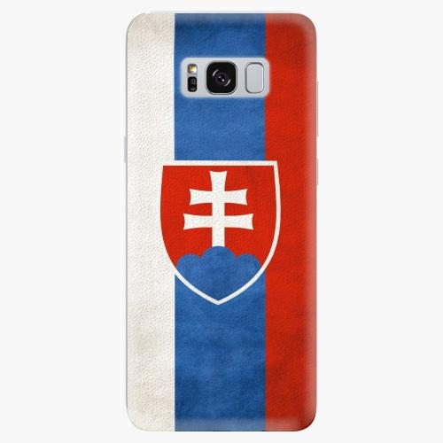 Plastový kryt iSaprio - Slovakia Flag - Samsung Galaxy S8 Plus
