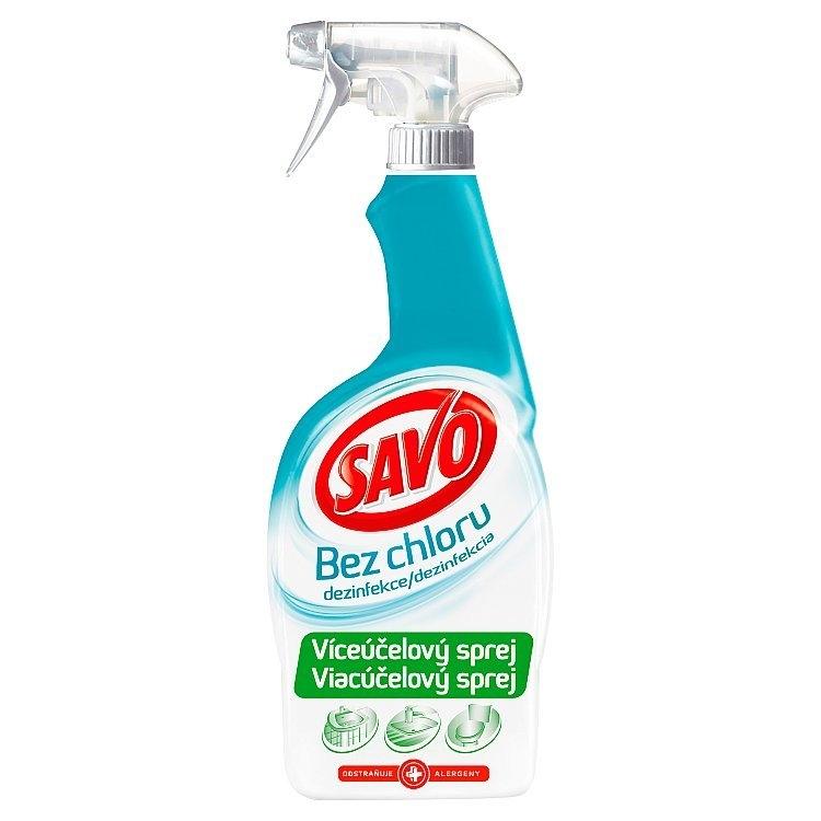 Savo Dezinfekce víceúčelový sprej 700 ml (bez chloru)