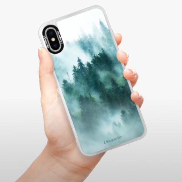 Neonové pouzdro Blue iSaprio - Forrest 08 - iPhone X
