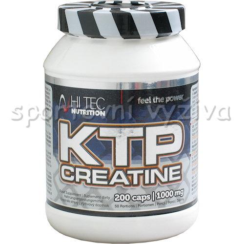 KTP Creatine 200 kapslí
