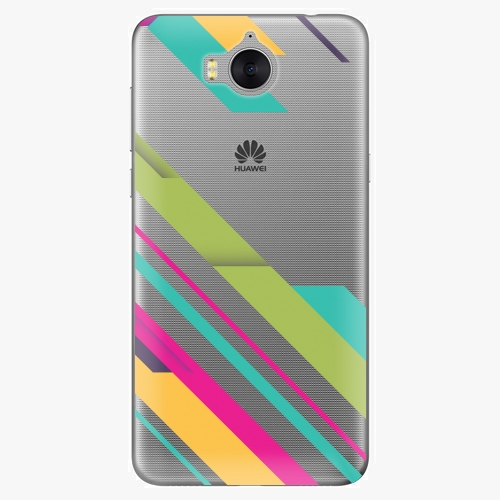 Plastový kryt iSaprio - Color Stripes 03 - Huawei Y5 2017 / Y6 2017
