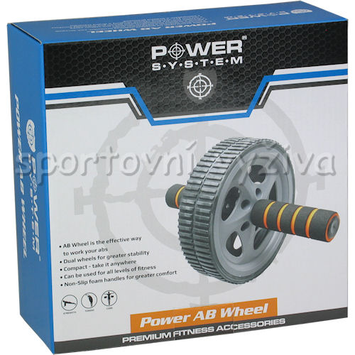 PowerSystem posilovací kolečko POWER AB WHEEL