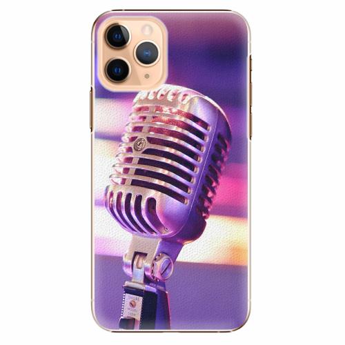Plastový kryt iSaprio - Vintage Microphone - iPhone 11 Pro
