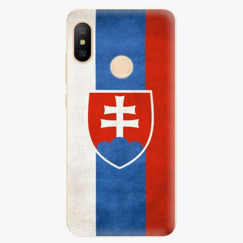 Silikonové pouzdro iSaprio - Slovakia Flag - Xiaomi Mi A2 Lite