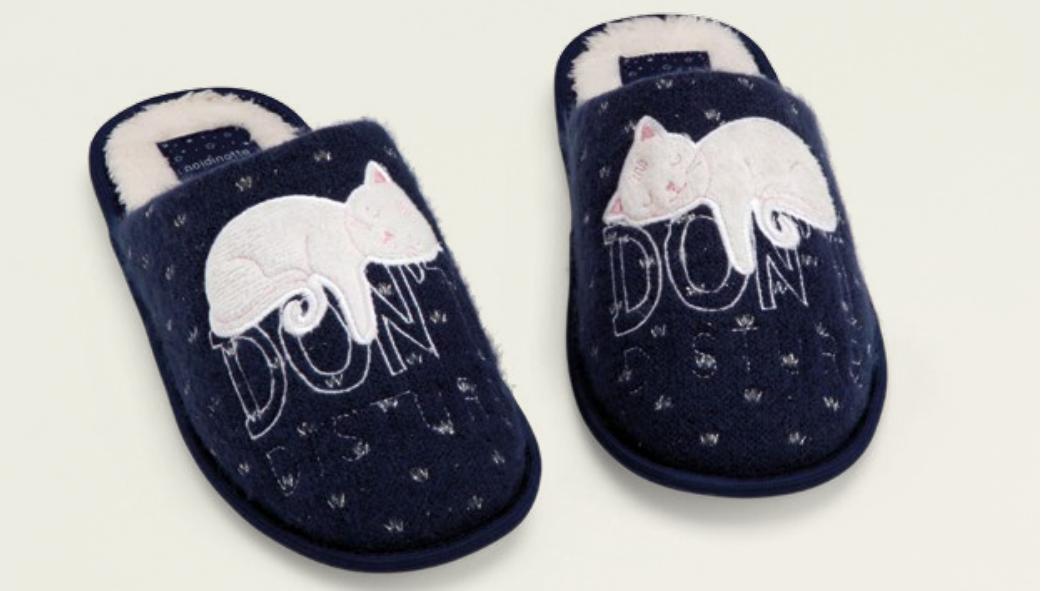 Dámské papuče PF1821 - Noidinotte - Tm.modrá/36-37