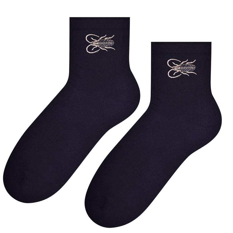 Dámské ponožky s aplikací 168