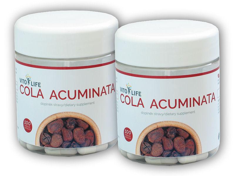 2x Cola Acuminata 100 kapslí