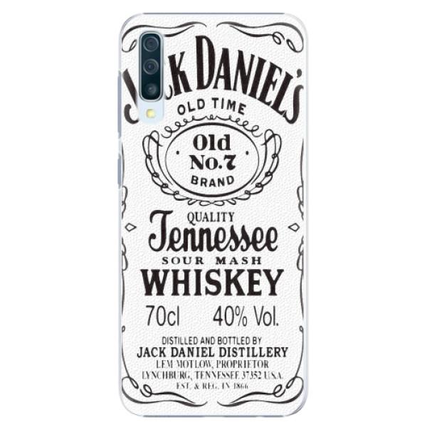 Plastové pouzdro iSaprio - Jack White - Samsung Galaxy A50