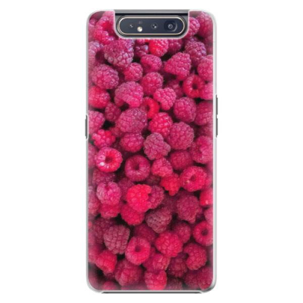 Plastové pouzdro iSaprio - Raspberry - Samsung Galaxy A80