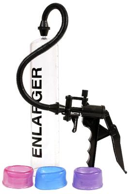 Vakuová pumpa se 3 manžetami Enlarger