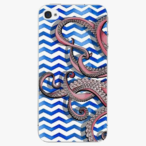 Plastový kryt iSaprio - Octopus - iPhone 4/4S