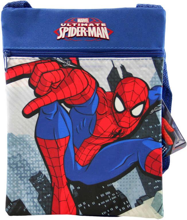 Taštička dětská přes rameno Spiderman 17x22cm pro kluky