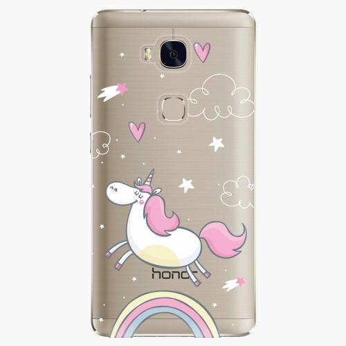 Plastový kryt iSaprio - Unicorn 01 - Huawei Honor 5X