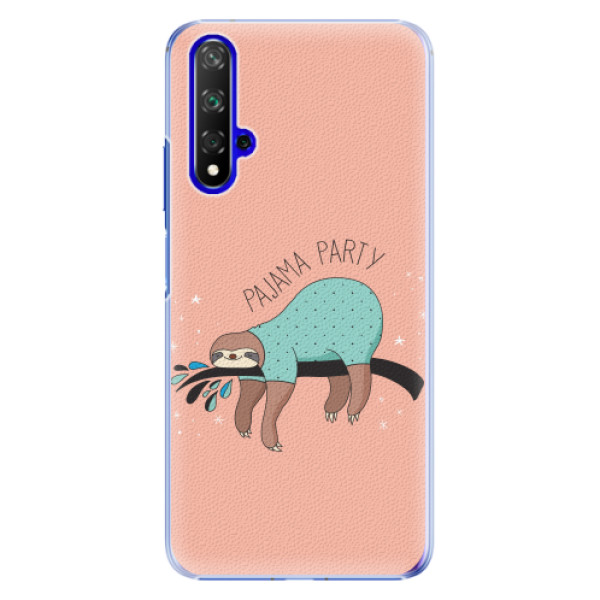 Plastové pouzdro iSaprio - Pajama Party - Huawei Honor 20