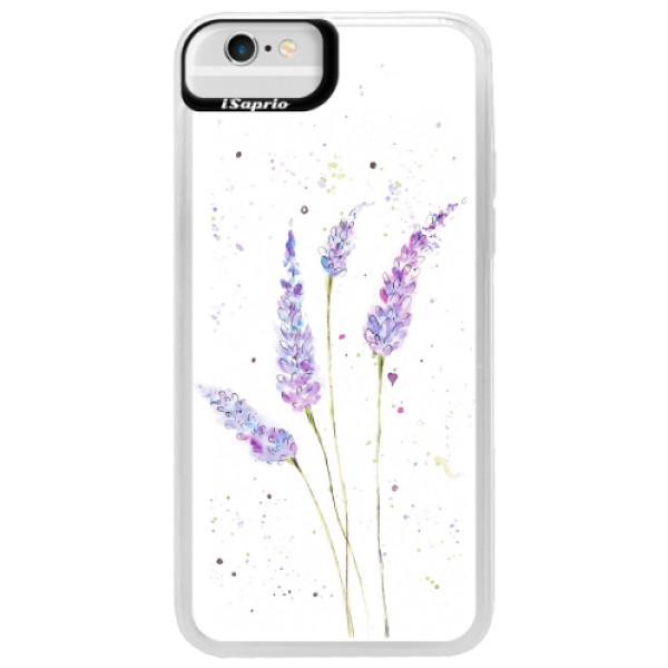Neonové pouzdro Blue iSaprio - Lavender - iPhone 6/6S