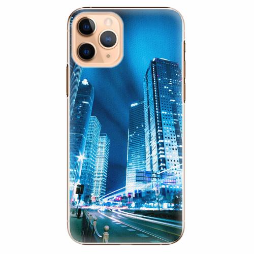 Plastový kryt iSaprio - Night City Blue - iPhone 11 Pro