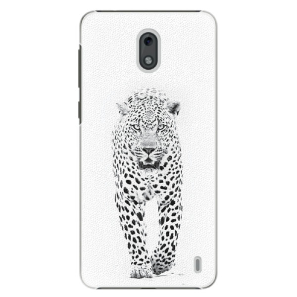 Plastové pouzdro iSaprio - White Jaguar - Nokia 2