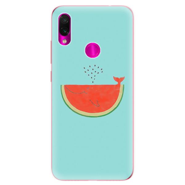 Odolné silikonové pouzdro iSaprio - Melon - Xiaomi Redmi Note 7