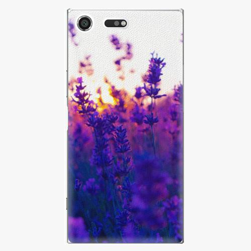 Plastový kryt iSaprio - Lavender Field - Sony Xperia XZ Premium