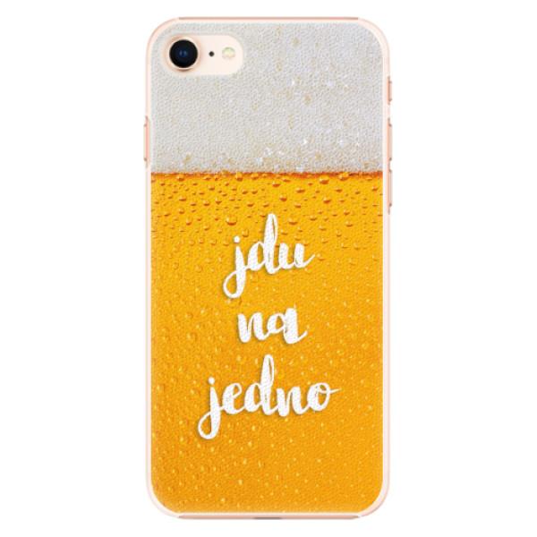 Plastové pouzdro iSaprio - Jdu na jedno - iPhone 8