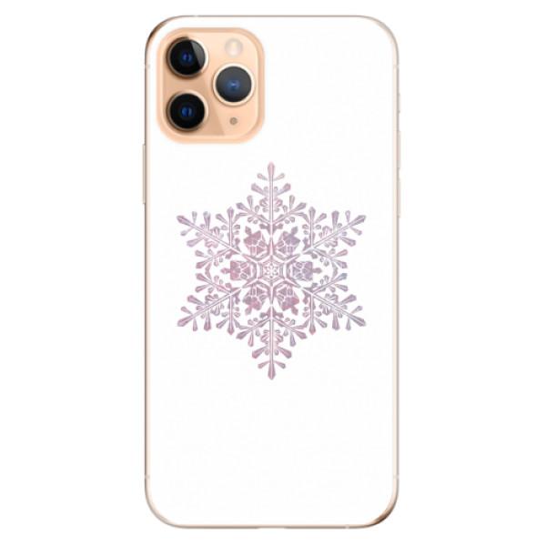 Odolné silikonové pouzdro iSaprio - Snow Flake - iPhone 11 Pro