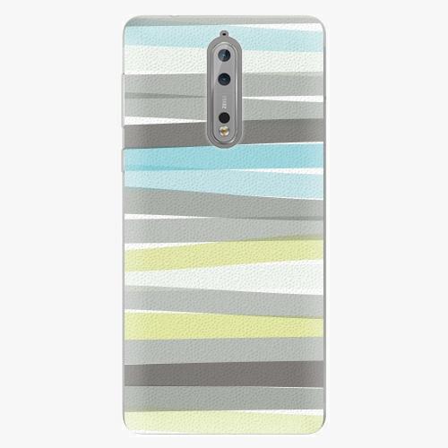 Plastový kryt iSaprio - Stripes - Nokia 8