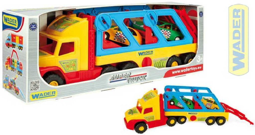 WADER Super Truck auto s autíčky 36640