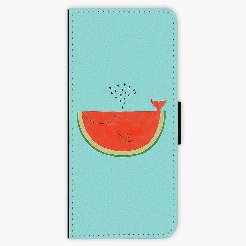 Flipové pouzdro iSaprio - Melon - Samsung Galaxy J3