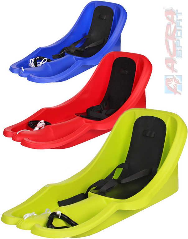 ACRA Baby boby tažné BAMBI s opěrkou a popruhem pro nejmenší 3 barvy plast