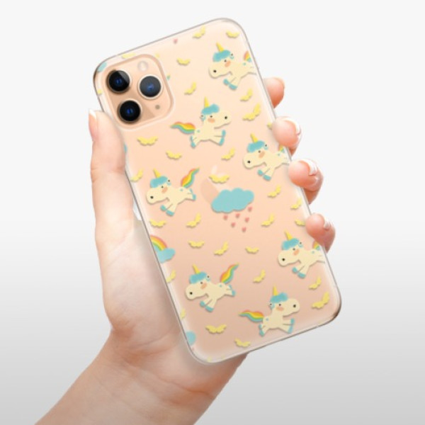 Odolné silikonové pouzdro iSaprio - Unicorn pattern 01 - iPhone 11 Pro Max