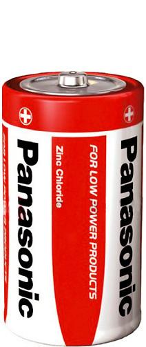 Baterie C střední monočlánek obyčejná R14 Panasonic